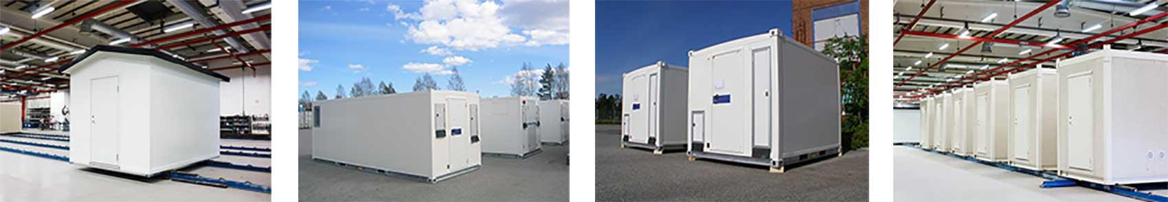 Prefabricerade modulära datacenter